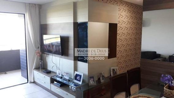 Apartamento Com 3 Dormitórios À Venda, 76 M² Por R$ 650.000,00 - Cocó - Fortaleza/ce - Ap3288