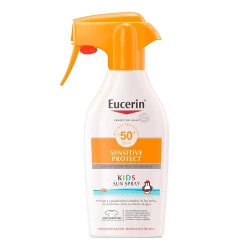 Protector solar Eucerin Sensitive Protect Kids spray FPS50 x 200 ml