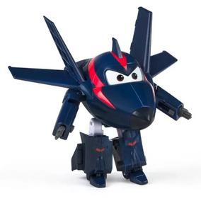 Avião Super Wings Agent Chace Change Em Up Yw710200 Intek