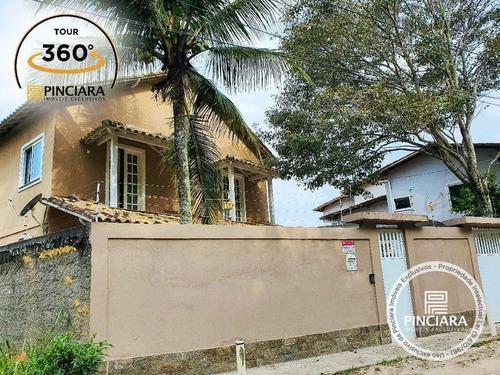 Imagem 1 de 29 de Casa Com 4 Quartos À Venda, 200 M² Por R$ 750.000 - Piratininga - Niterói/rj - Ca0141