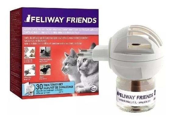 Feliway Friends 1 Difusor + 1 Refil 48ml Educador Conflitos
