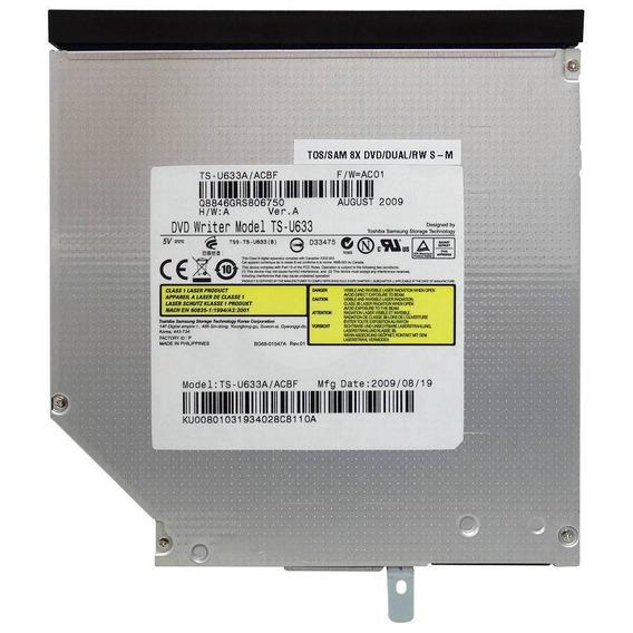Gravador De Dvd Para Notebook Sata 9.5 Slim Uj8c2