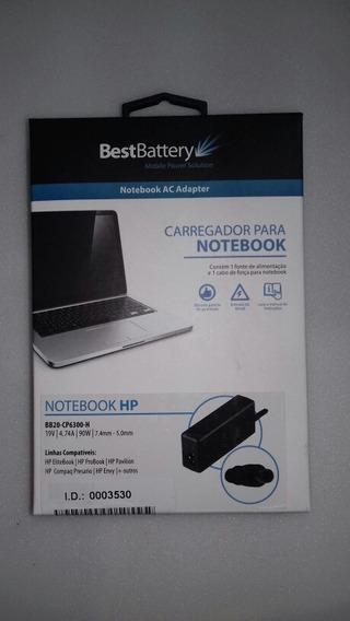 Carregador Notebook Hp Bb20-cp-6300-h 19v /4,74a 90w