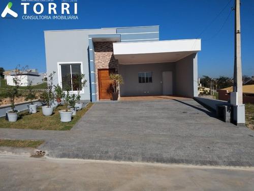Imagem 1 de 30 de Casa À Venda No Condomínio Campos Do Conde - Cc00308 - 69564795