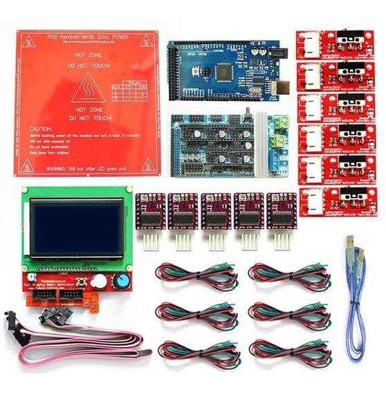 Kit Impressora 3d Eletronica Completa ** Alta Qualidade **