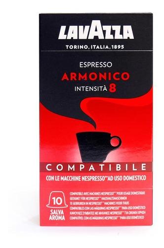Cápsulas Nespresso Compatibles Lavazza Armónico Intensidad 8