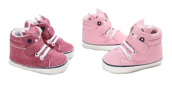 Zapatos Zapatitos Tenis Bebe Comodos Niño Niña Set 2 Pares