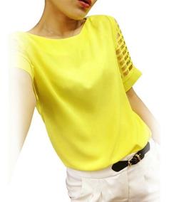Blusa Camisa Feminina Bata Importada Pronta Entrega