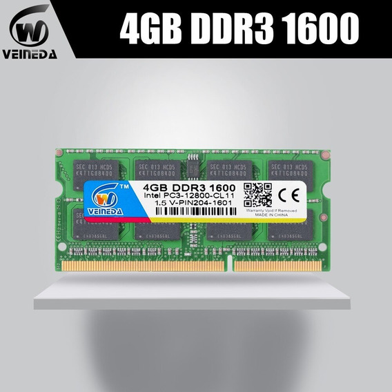 Memoria Notebook 1 X 4gb Samsung Rv411-cd1 M3.124