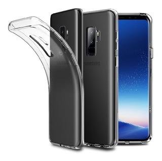 Protector Samsung Galaxy S9 Plus Silicon Transparente