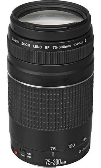 Lente Canon Ef 75-300mm F/4-5.6 Iii Garantia Sem Juros