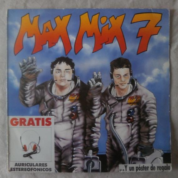 Lp Max Mix 7, Coletânea Dance Eurodisco Importado Duplo