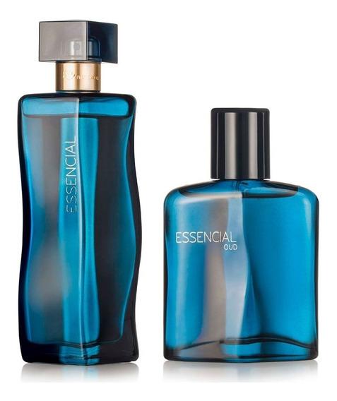 Kit Deo Parfum Essencial Oud Masc E Oud Fem Natura 100 Ml