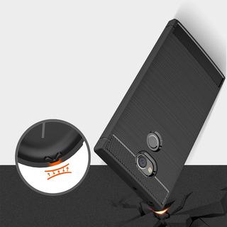 Fundas Uso Rudo Para Sony Xa2 Y Xa2 Ultra Fibra De Carbono