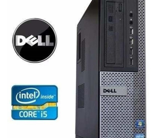 Desktop Dell Optiplex 7010 Sff Slim I5 4gb 500gb Win 7 Pro