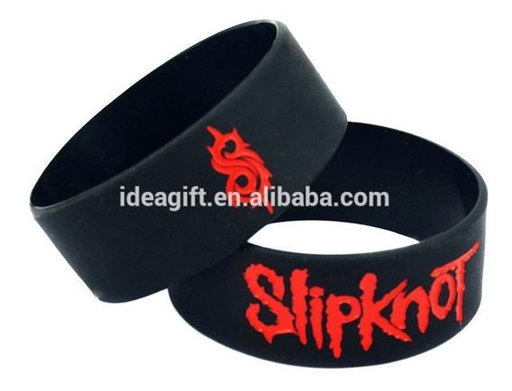 Pulseira Silicone - Slipknot. (frete R$ 10,00).