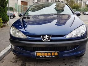 Peugeot 206 Sw 1.4 Presence 5p 2005 Azul Completo