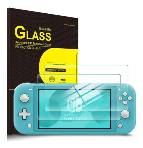 Mica De Vidrio Nintendo Switch Lite Entrega Inmediata !!!