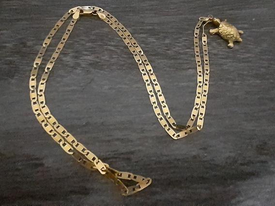 Cordao De Ouro Com Pingente 15 Gramas