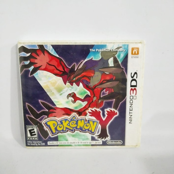 Pokémon Y 3ds Usado