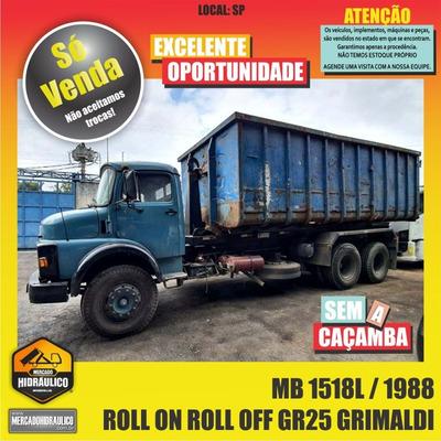 Mb 1518l / 1988 - Roll On Roll Off Gr25 Grimaldi