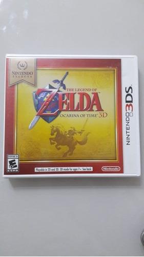 The Legend Of Zelda Ocarina Of Time 3d - 3ds Lacrado Fabrica