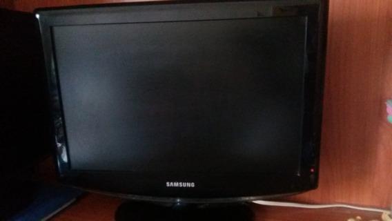 Tv Samsung 19 Pulgadas Lcd Monitor (casi Sin Uso)