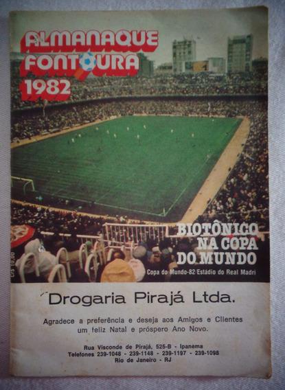 Copa 82 Biotônico Fontoura Almanaque 1982 Propaganda