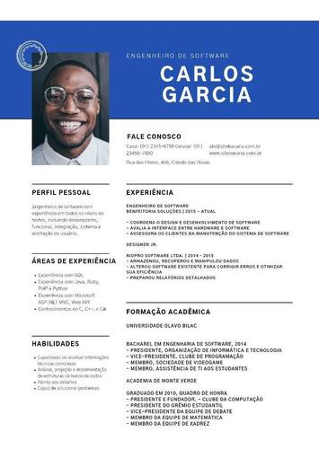 Imagem 1 de 3 de Currículo, Convites, Cardápios E Cartazes.