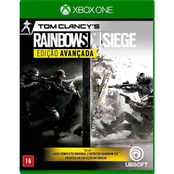 Rainbow Six Siege Edição Avançada - Xbox One - Novo - Fisica