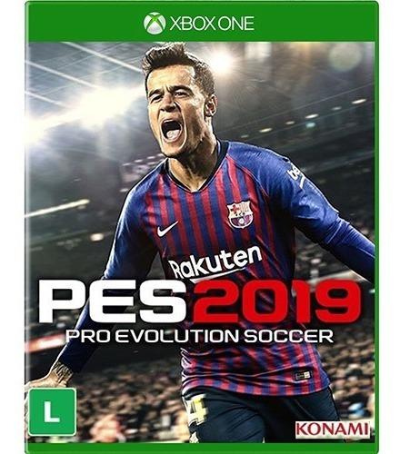 Jogo Pes 2019 Pro Evolution Xbox One Midia Fisica Dublado Br