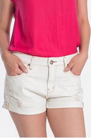 Shorts Jeans Dobradinho Canal Original Promoção