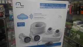 Kit De Câmeras De Segurança Multilaser Hd - Se118