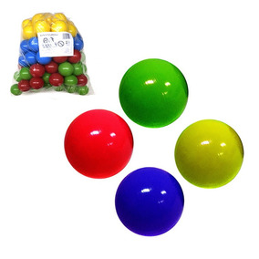 50 Bolinhas Para Piscina De Bolinhas Coloridas De Plástico