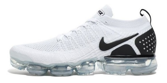 Tenis Nike Air Vapormax Flyknit 2018 White And Black