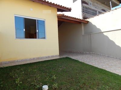 Casa Nova No Bairro Oásis Em Peruíbe Para Venda