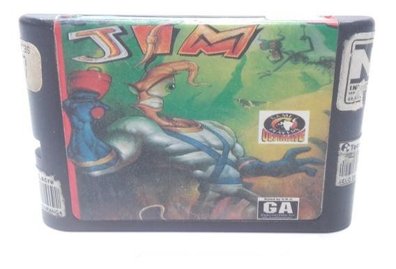 Jogo Earthworm Jim Original Sega Mega Drive