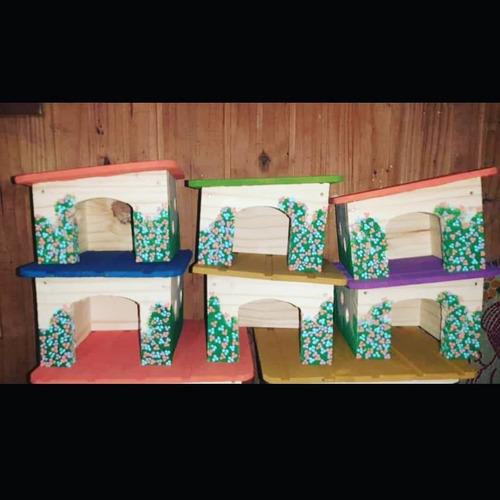 Casas Para Cobayos Hamsters  Erizos