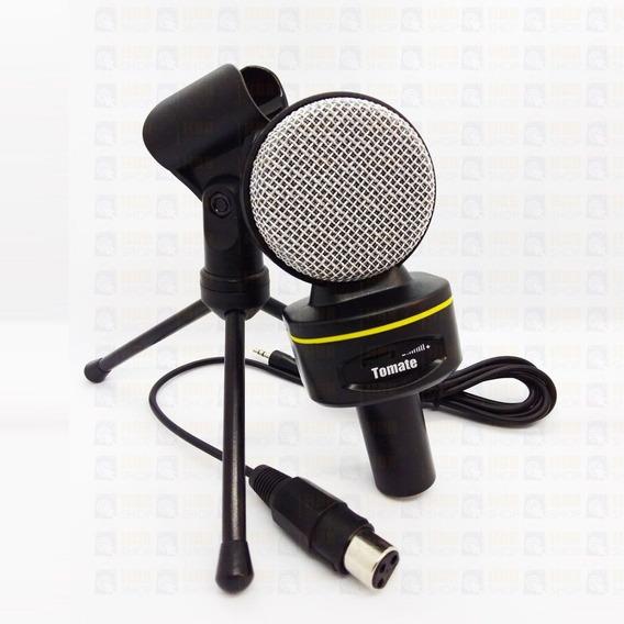Atacado C/ 10 Microfone Condensador Multimídia + Tripé