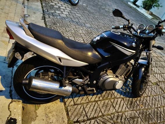 Suzuki Gs500e 2008 Zerada C/ Garantia De Motor.