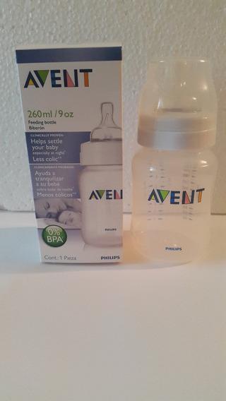 Tetero Avent 9 Oz Trasparente Anti-colico Made Uk 7 Verdes