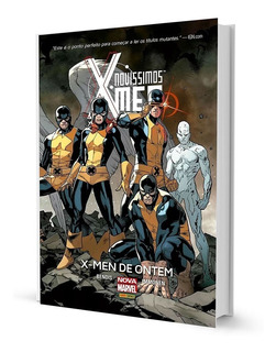 Hq Novíssimos X-men X-men De Ontem Volume 1 Capa Dura