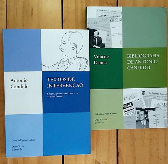 Bibliografia De Antonio Candido - Textos De Intervenção