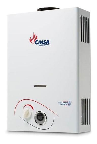 Calentador Boiler De Paso Cinsa Instantaneo Cin-06b Gas Nat.
