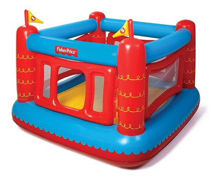 Fisher-price Bouncetastic Saltarin Trampolin Inflable Infant