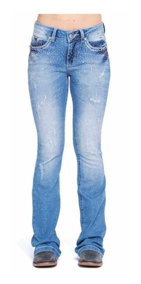 Calça Zenz Western Jeans Saphira Feminina Lançamento