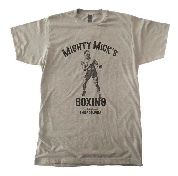 Playera Mighty Micks Gym Rocky Balboa