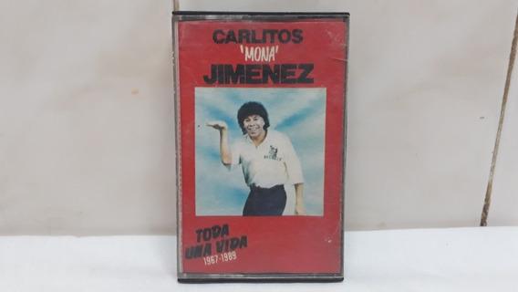 Carlitos La Mona Jimenez Cassette Toda Una Vida 1967 - 1989