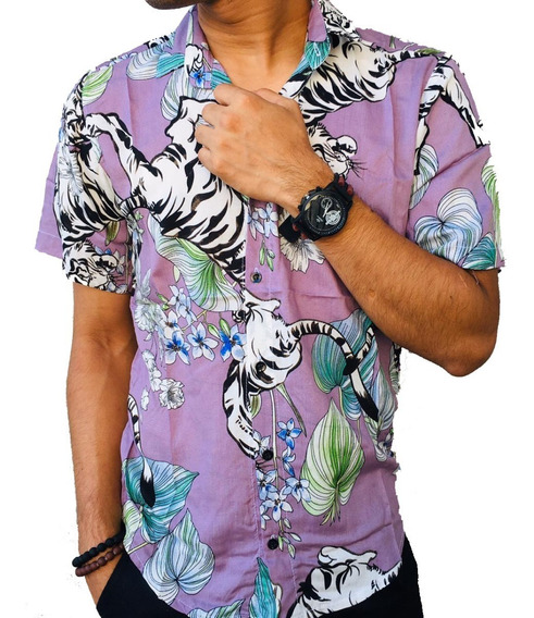 Camisa Manga Corta Fibrana Hombre | Bartuk (11212020)