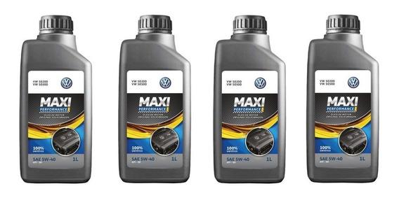 Kit Revisão 5l 5w40 502 00 Maxi Castrol Performance - G05216